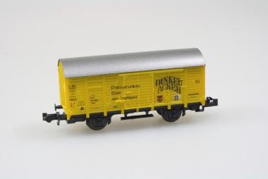 Roco 2321C gedeckter Güterwagen Bierwagen Dinkelacker DB in N Originalverpackung