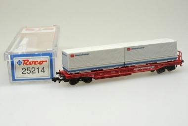 Roco 25214 Einheitstaschenwagen DB Güterkraftverkehr in N in Originalverpackung
