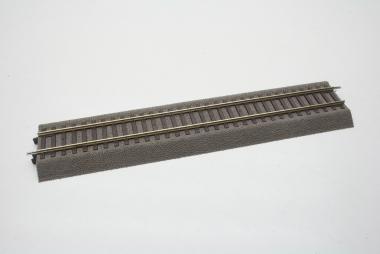 Roco Line 42510 gerades Gleis mit Bettung 230 mm in H0