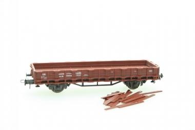 Roco 4306 Rungenwagen Rr 20 400 330 der DB H0 in Originalverpackung