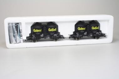 Roco 44101 Silowagen-Set der DB mit AC Achsen H0 in Originalverpackung