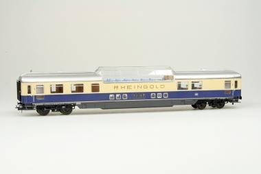 Röwa 3144 Rheingold Aussichtwagen der DB in H0 Neu