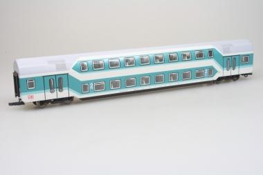 Sachsenmodelle 14429 Doppelstockwagen DBz der DB in H0 unbespielt Wechselstrom