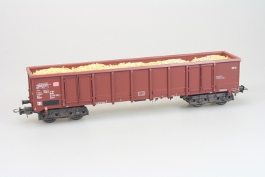 Sachsenmodelle 16076 offener Güterwagen mit Ladung DB in H0 Originalverpackung