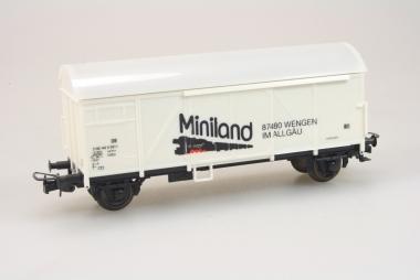 Sachsenmodelle 18671 Werbewagen Gklms MINILAND der DB in H0 Originalverpackung
