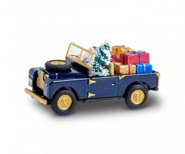 Schuco 26561 Land Rover 88 Weihnachten MHI 2020 in H0 1:87 Fabrikneu