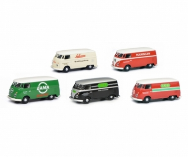 Schuco 452646300 MHI Set VW T1c in H0 1:87 Fabrikneu