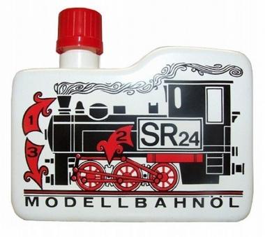 SR 24 Dampfdestillat Modellbahn und Reinigungsöl 100 ccm NEUWARE