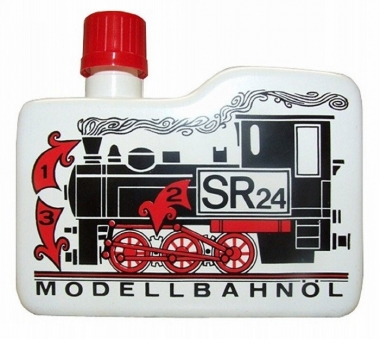 SR 24 Dampfdestillat Modellbahn und Reinigungsöl 100 ccm Fabrikneu