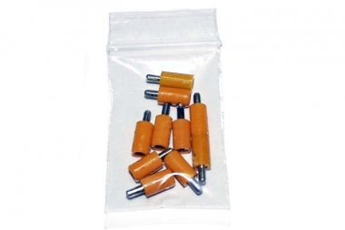 Märklin/Brawa 10x Stecker orange guter Zustand