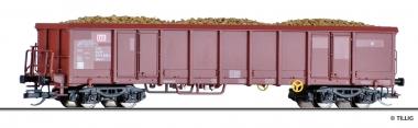 Tillig 522097 offener Güterwagen mit Rüben DB in TT aus Display 501625 Fabrikneu