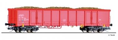Tillig 522123 offener Güterwagen mit Rüben DB in TT aus Display 501625 Fabrikneu