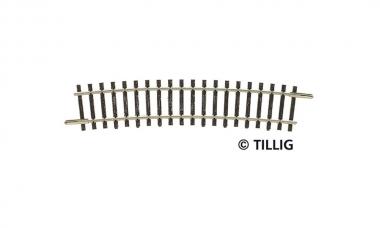 Tillig 83112 Gleis gebogen R32 R396 15° in TT Fabrikneu