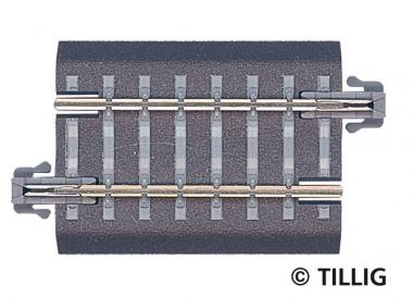 Tillig 83705 Bettungsgleis gerade G3 43mm in TT Fabrikneu