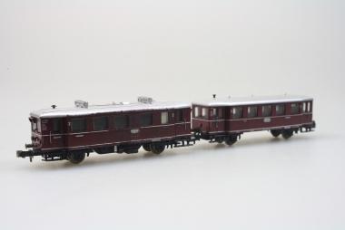 Minitrix 12090 Diesel Triebwagenzug VT 75.9+140 der DB Funktion geprüft in OVP