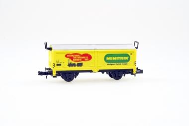 Trix Minitrix 13530 Schiebedachwagen Spielwarenmesse 1985 in Originalverpackung
