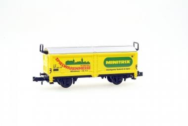 Trix Minitrix 13530 Schiebedachwagen Spielwarenmesse 1983 in Originalverpackung