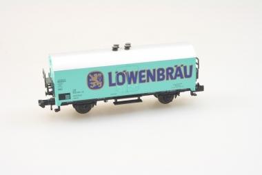 Trix Minitrix 13960 Kühlwagen LÖWENBRÄU in N unbepielt in Verpackung