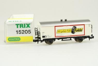 Trix Minitrix 15205 Güterwagen der DB in Originalverpackung