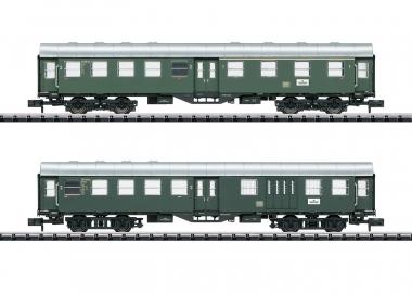 Trix Minitrix 15409 Nahverkehrswagen-Set Umbauwagen der DB in N Fabrikneu