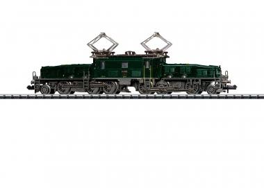 """Trix Minitrix 16681 E-Lok Serie Ce 6/8 III """"Krokodi in N digital Sound Fabrikneu"""