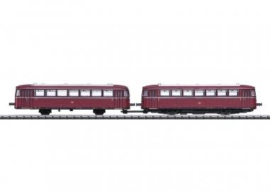Trix Minitrix 16981 Triebwagen VT98 mit Steuerwagen DB N digital Sound Fabrikneu