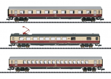 "Trix Minitrix 18214 Wagen-Set ""IC 142 Germania"" 3-teilig in N Fabrikneu"