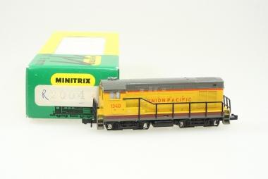 Minitrix 2004 Fairbanks Morse H-12-44 Switcher der UP in Originalverpackung