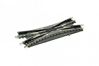 Minitrix 4968 elektrische doppelle Kreuzungsweiche Spur N Funktion geprüft