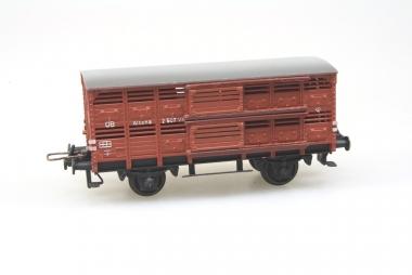 Trix Express 3425 Verschlagwagen der DB in H0 Guss Top in Originalverpackung