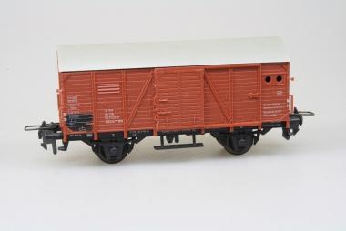 Trix Express 3619 gedeckter Güterwagen der DB in H0 Top in Originalverpackung