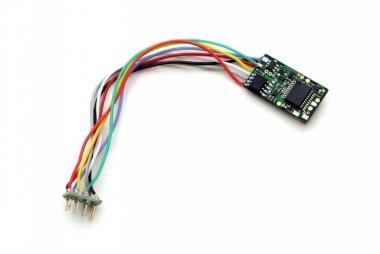 Uhlenbrock 74120 Multiprotokoll Decoder m. 8-pol Stecker TT-H0e-H0m-H0 Fabrikneu