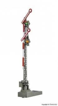 Viessmann 4701 Digital Form-Hauptsignal mit 2 gekoppelten Flügeln H0 Fabrikneu