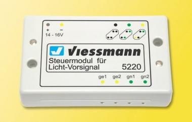 Viessmann 5220 Steuermodul für Licht-Vorsignal Fabrikneu