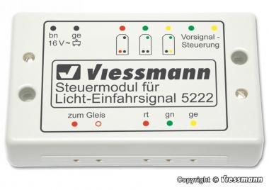 Viessmann 5222 Steuermodul für Licht-EinfahrsignalFabrikneu