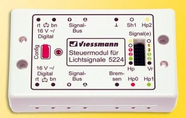 Viessmann 5224 Steuermodul für Lichtsignale Fabrikneu