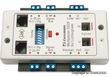 Viessmann 5229 Multiplexer für Lichtsignale mit Multiplex-Technologie Fabrikneu