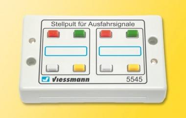 Viessmann 5545 Tasten-Stellpult 4-begriffig Fabrikneu
