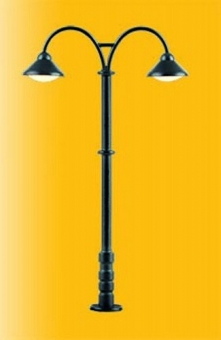 Viessmann 6109 Platform lamp Baden-Baden double 2 LEDs warm-white H0 new