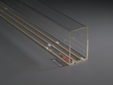 Train Safe Vision TSV-I-300-L Röhre befahrbar 300 cm Spur 1 Farbrikneu