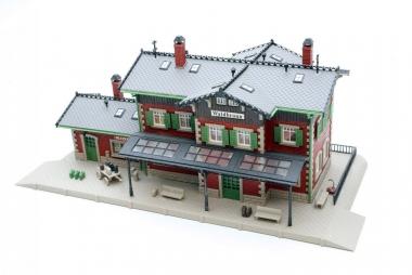 Vollmer 43505 Bahnhof Waldbronn in H0 mit Beleuchtung