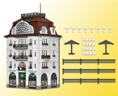 Vollmer 43618 Wiener Kaffeehaus in H0 Bausatz