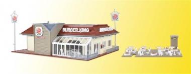 Vollmer 43632 Burger King Schnellrestaurant Inneneinrichtung LED in H0 Bausatz
