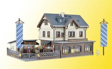 Vollmer 43663 Railway station restaurant H0 kit