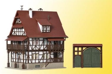 Vollmer 43732 Winzerhaus mit Hoftor in H0 Bausatz Fabrikneu