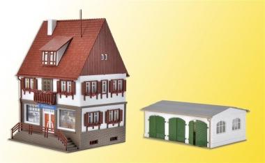 Vollmer 43763 Polizei Einsatzzentrale 7 in H0 Bausatz