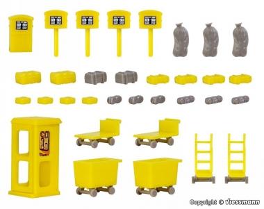 Vollmer 45131 Deko-Set Post in H0 Bausatz Fabrikneu