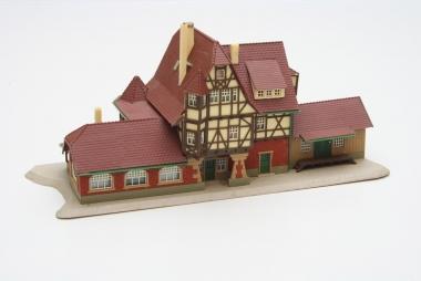 Vollmer 47522 Bahnhof Neuffen in N gebaut