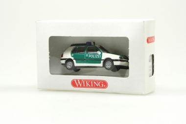 Wiking 10401 VW Golf Polizei H0/1:87 NEUWARE