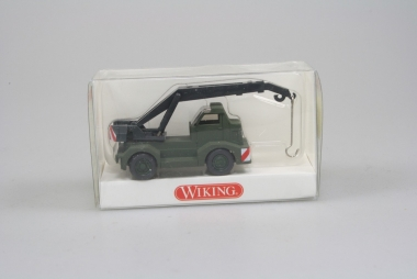 Wiking 6961634 Bundedwehr Kranwagen Demag H0/1:87 in Originalverpackung